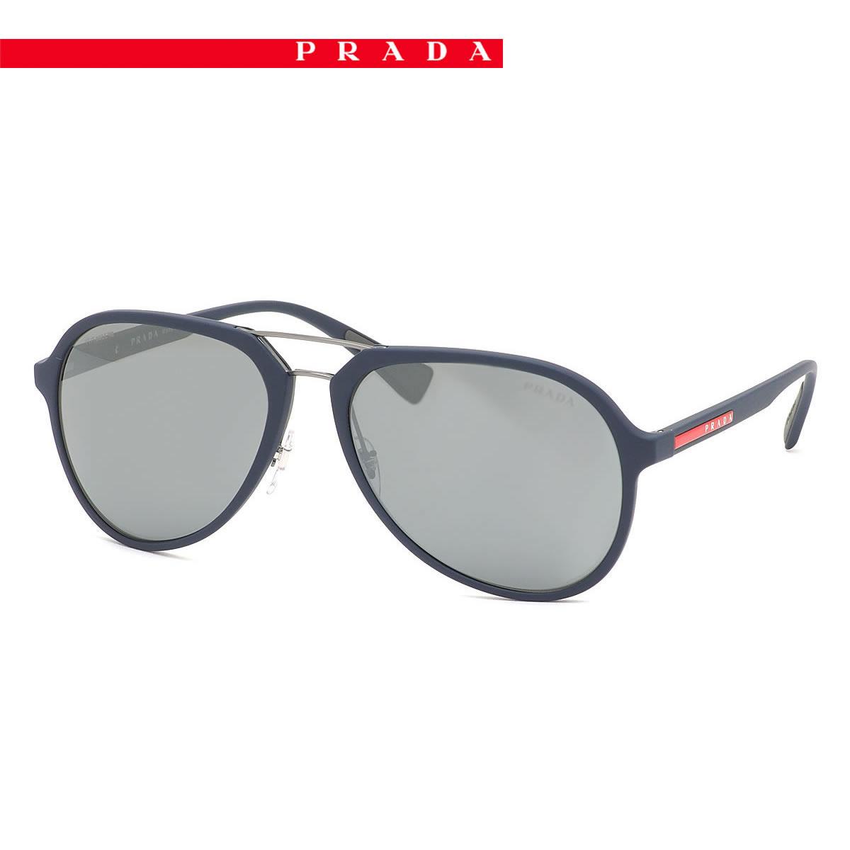 05b810441664 (PRADA SPORT) sunglasses PS05RS TFY7W1 58 size PRADA SPORTS リネアロッサ LINEA  ROSSA rubber frame ...