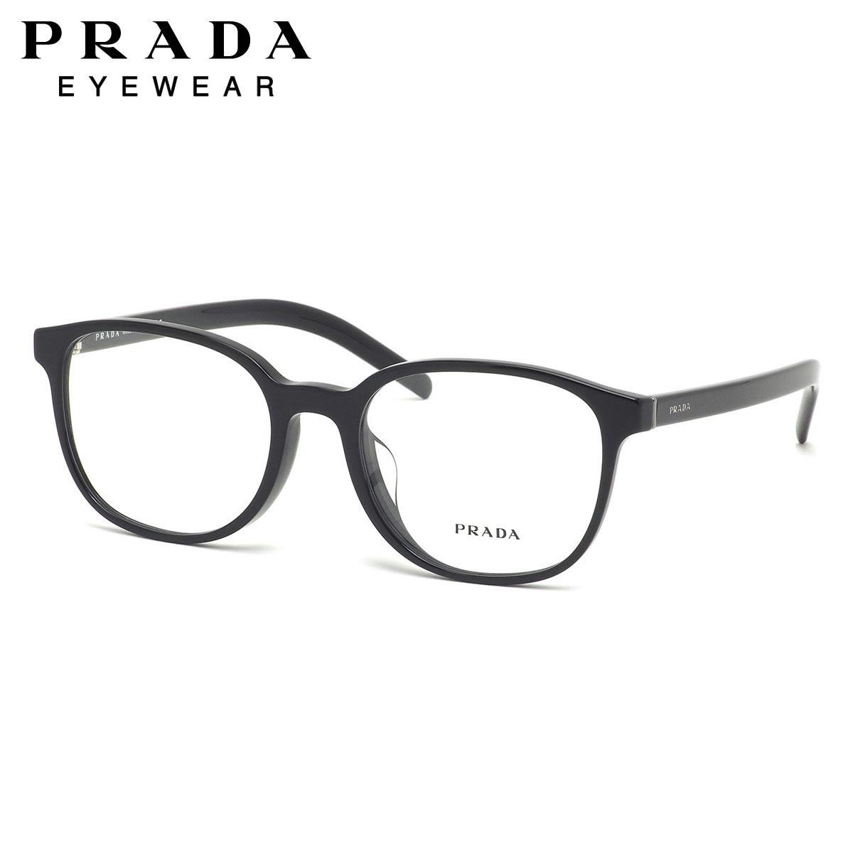 プラダ PRADA メガネ PR07XVF 1AB1O1 54サイズ フルフィット スクエア クール スタイリッシュ 軽い メンズ レディース
