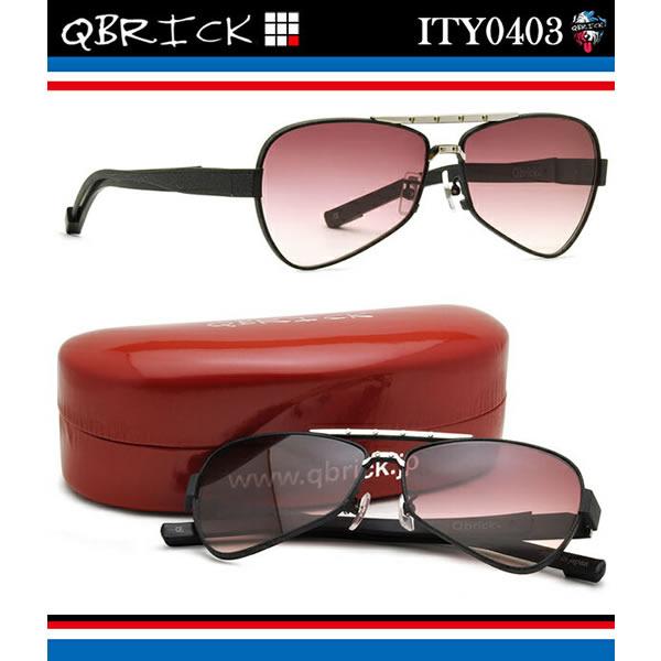 【10月30日からエントリーで全品ポイント20倍】【Qbrick】 (キューブリック) サングラス ITY0403 62サイズ キューブリック QBRICK メンズ レディース