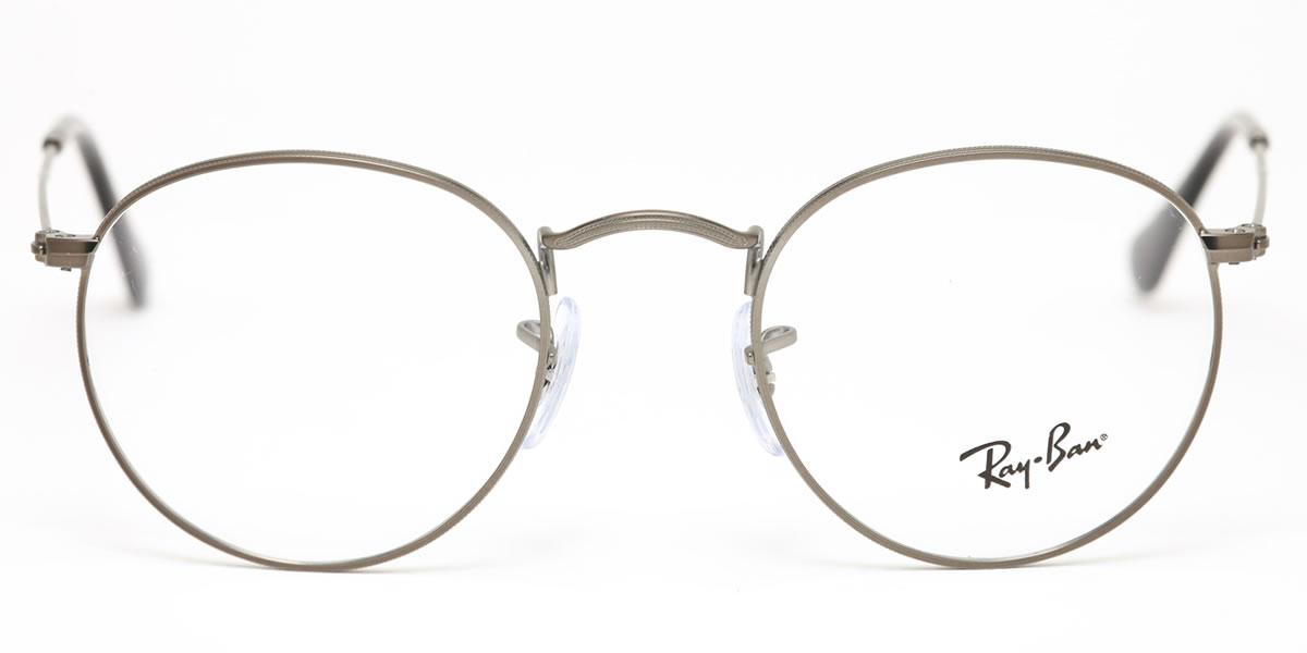 6f19b47b47819b ... Ray-Ban round metal glasses frame Ray-Ban RX3447V 2620 47 size round-  ...