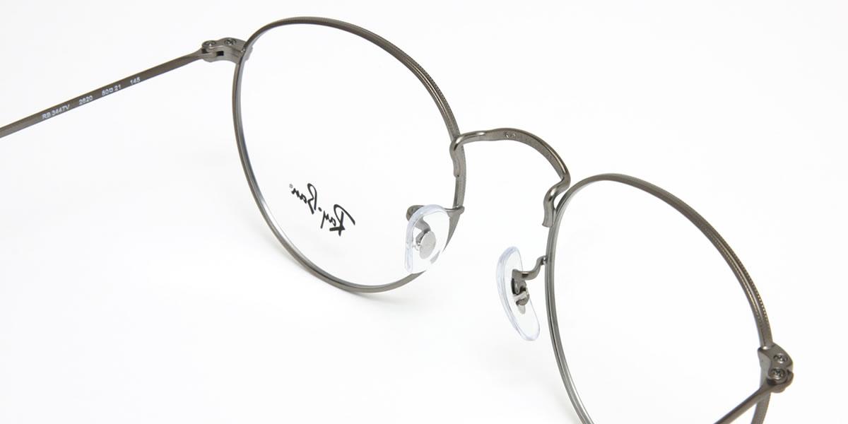 65c0acae311b1f ... Ray-Ban round metal glasses frame Ray-Ban RX3447V 2620 50 size round-  ...
