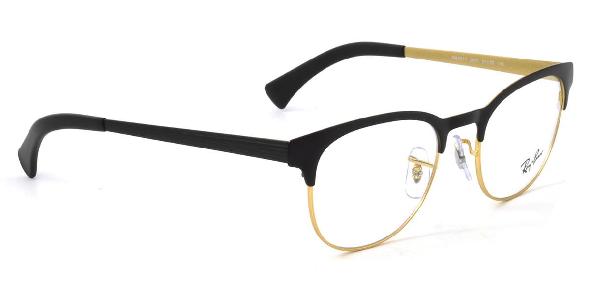 a9e1f6f0dfb (Ray-Ban) glasses frames RX6317 2833 51 size Ray Ban RAYBAN men s women s