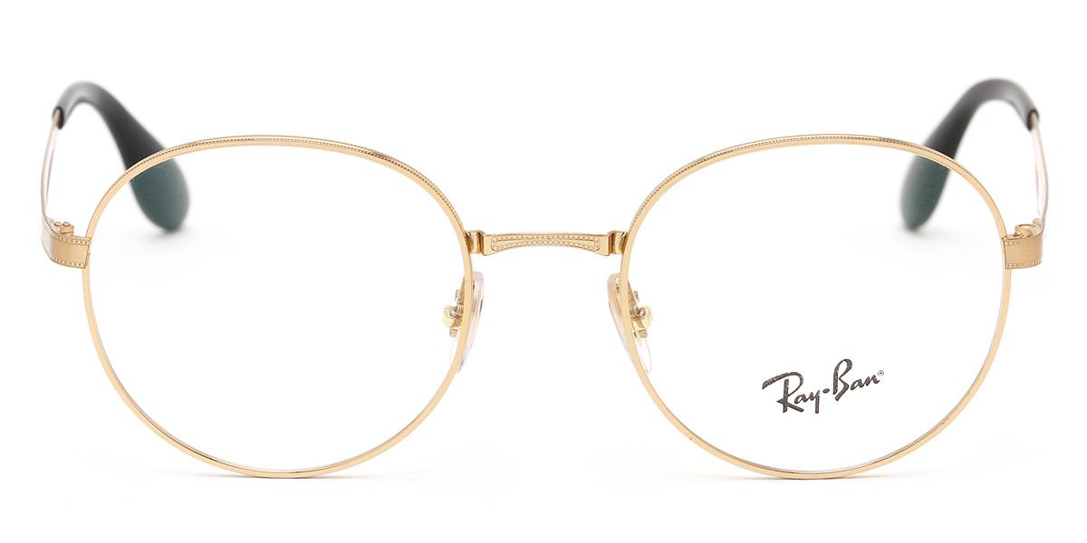 2f751f42218b0 ... france ray ban glasses frames rx6343 2860 47 size boston round glasses  metal ray ban ray ...