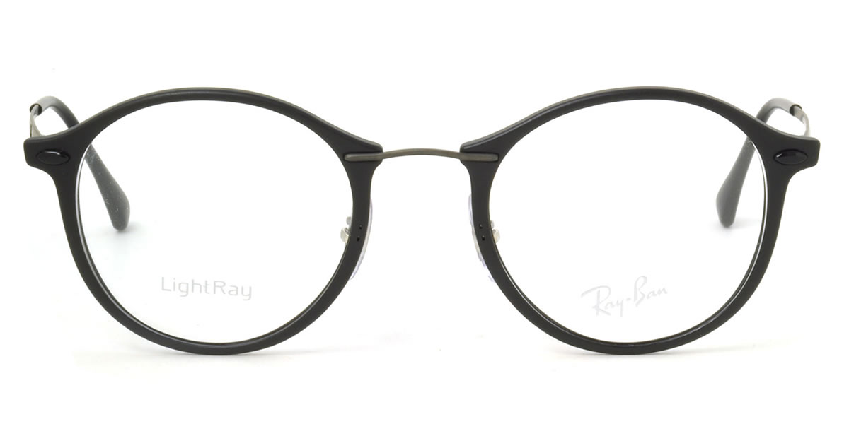 003ecf77c6b ... italy ray ban tech light ray glasses frames rx7073 2077 47 size round  round glasses round