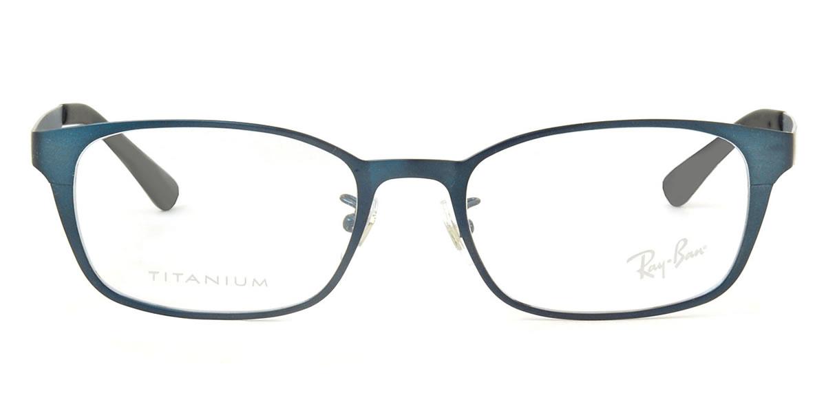 102 时间有限 ! 点达 35 倍 ! 达 10/6 (星期四) 1:59 (雷朋) 眼镜 RX8738D2510 53 尺寸方形金属钛钛雷男人的女人