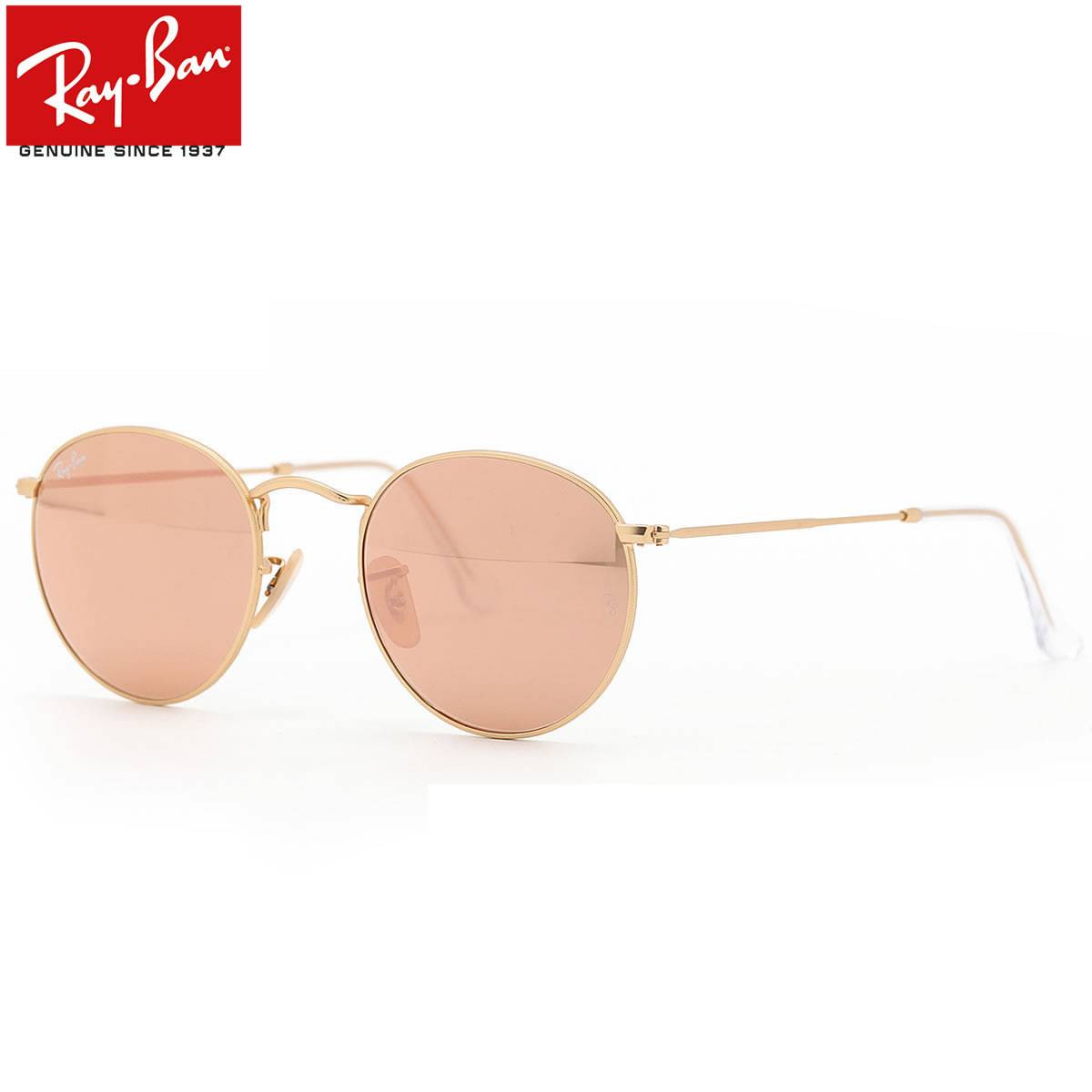 Ray-Ban Sunglasses RB3447 112 Z2 50size ROUND METAL GENUINE NEW rayban ray  ban 685d31f42d82