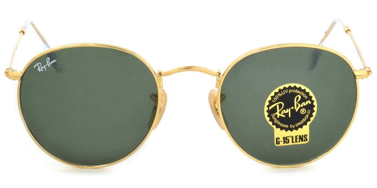 699601ec168 Ray-Ban Sunglasses RB3447 001 50size ROUND METAL GENUINE NEW rayban ray ban