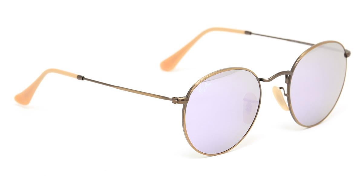 415e2ddbc38 Ray-Ban Sunglasses RB3447 167 4K 50size ROUND METAL GENUINE NEW rayban ray  ban