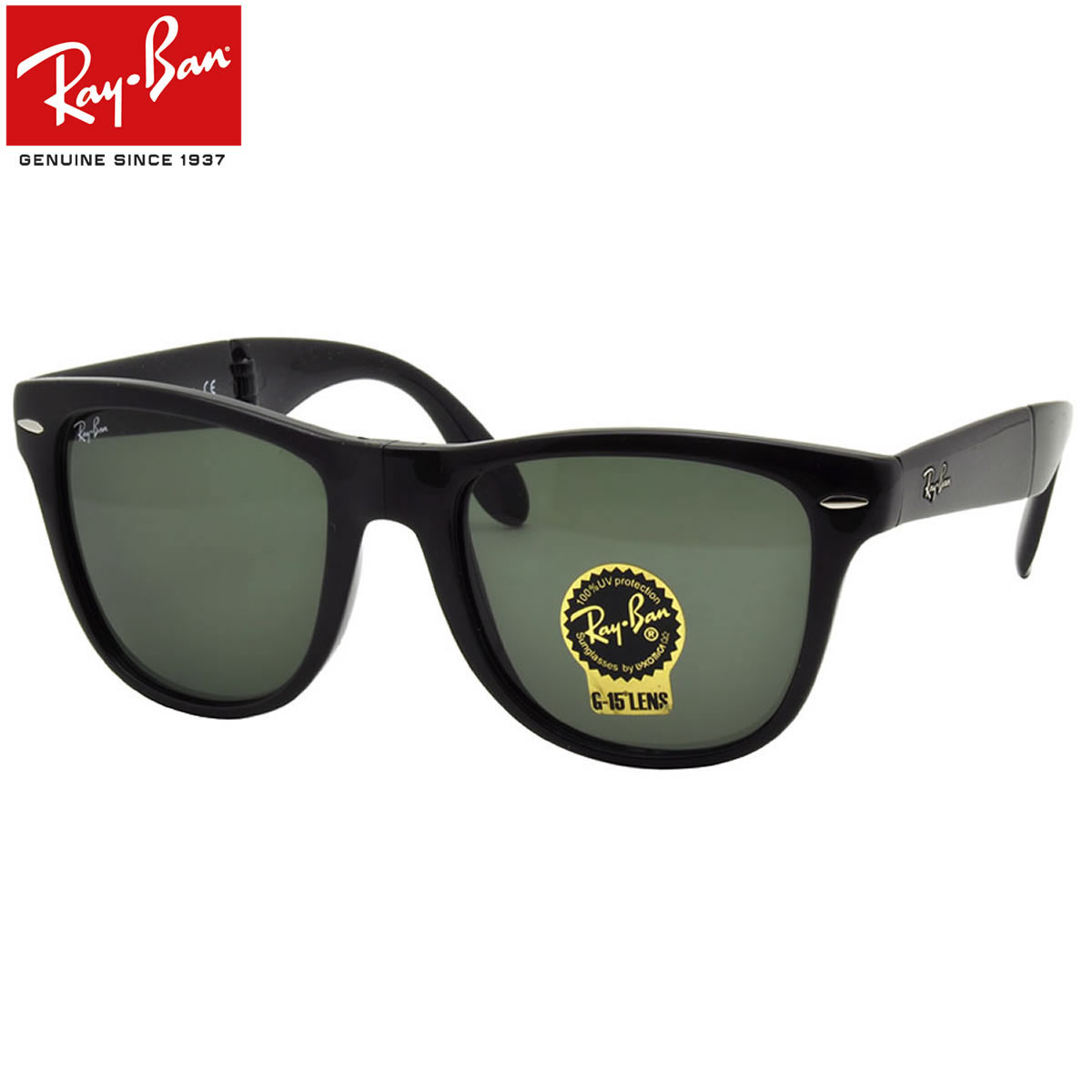 cf053f8bb15c Ray-Ban Sunglasses RB4105 601 54size WAYFARER FOLDING GENUINE NEW rayban  ray ban ...