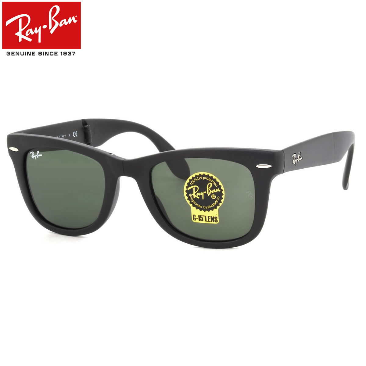 f55bedede1 It is a foldable folding type of one of the most popular models way Farrar  now. In pronominal existence way Farrar WAYFARER of Ray-Ban
