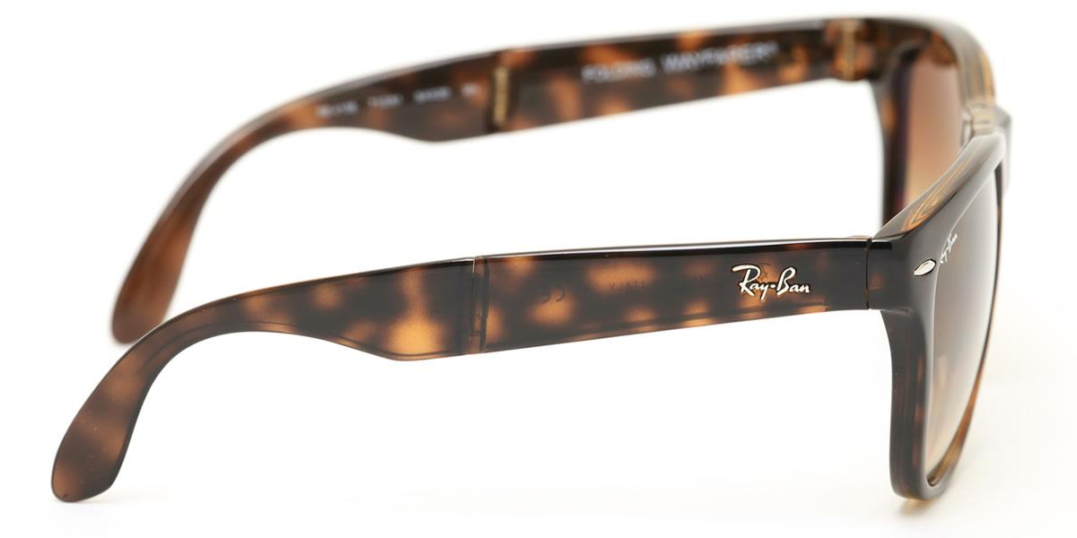 7f236c0575d Ray-Ban sunglasses way Farrar folding Ray-Ban RB4105 710 51 54 size Ray-Ban  RAYBAN WAYFARER FOLDING 71051 folding tortoiseshell tortoise shell ICONS  icon ...