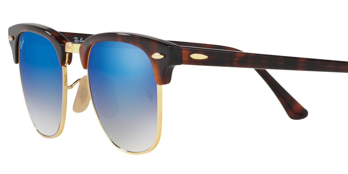 ae6d97b05d80 Ray-Ban sunglasses mirror club master Ray-Ban RB3016 990 7Q 51 size Ray-Ban  RAYBAN CLUBMASTER FLASH LENSES GRADIENT 9907Q サーモントブロー tortoiseshell ...