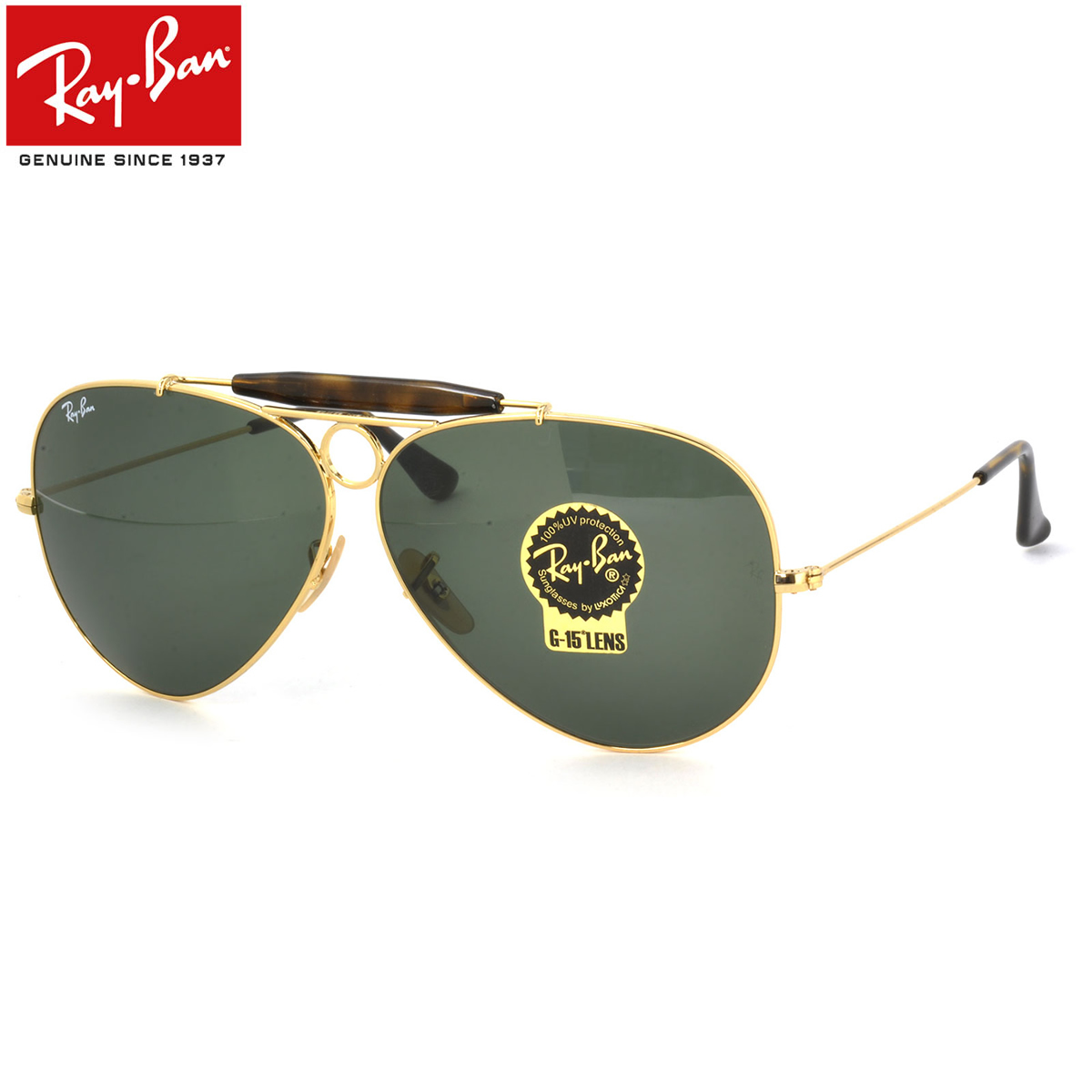 f5a28d36057 Ray-Ban Sunglasses RB3138 181 62size SHOOTER GENUINE NEW rayban ray ban