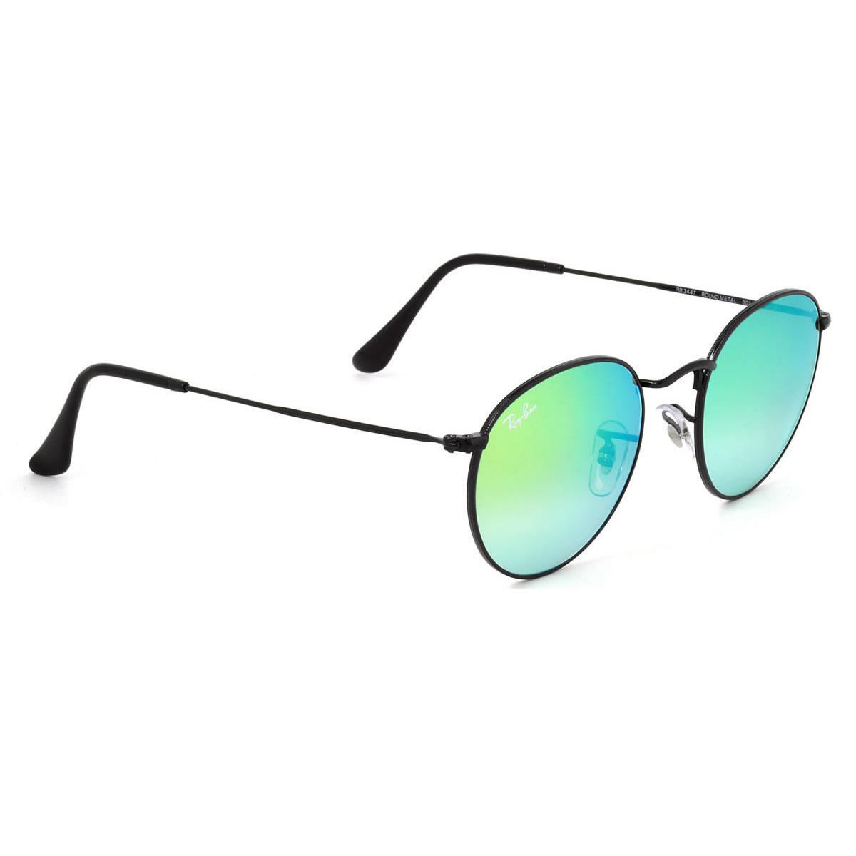 17867022a5802 Ray-Ban sunglasses mirror round metal Ray-Ban RB3447 002 4J 50 size Ray-Ban  RAYBAN ROUND FLASH LENSES GRADIENT 0024J METAL-maru glasses mirror ICONS  icon ...