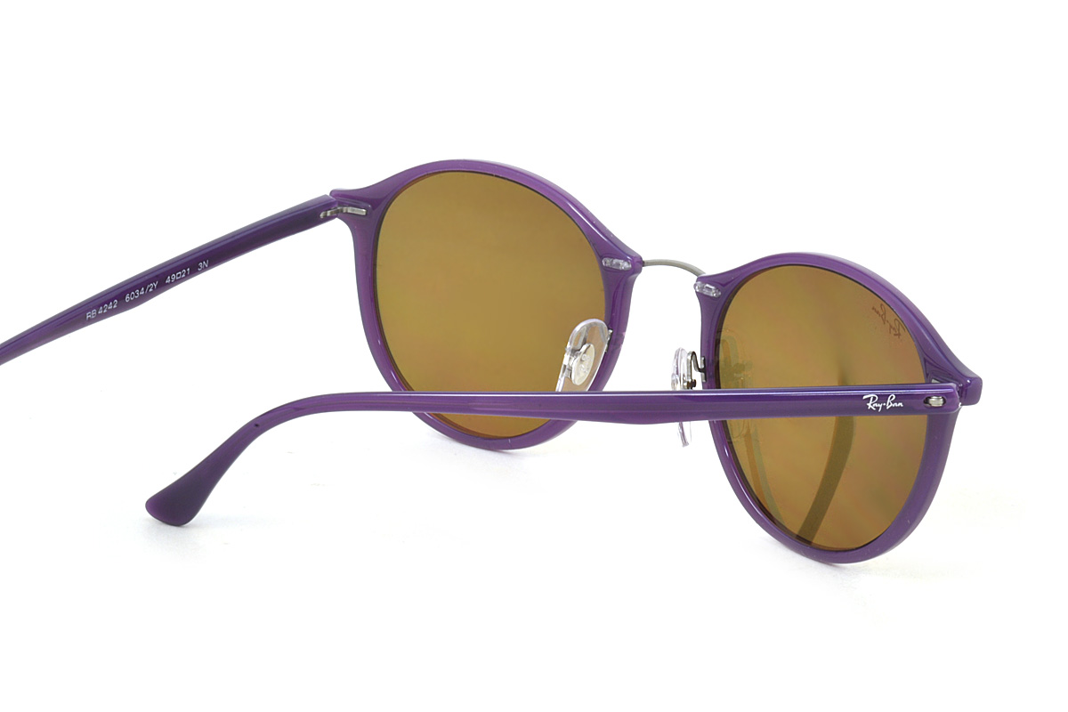 f81fa2af84 ... Ray-Ban sunglasses mirror technical center light lei Ray-Ban RB4242  60342Y 49 size ...