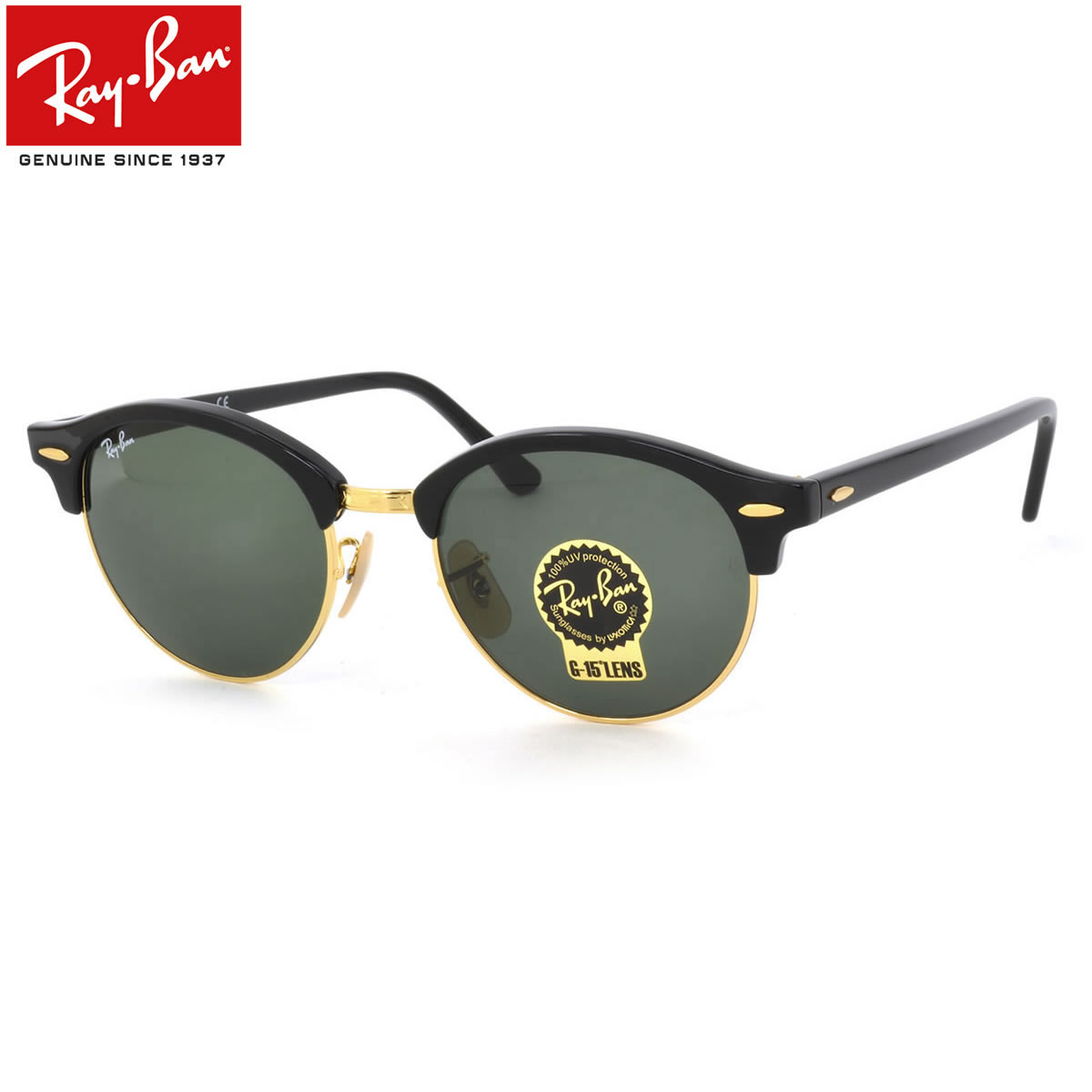 ebbfc62cf54 New icons CLUBROUND (clubround) was born from the ray-ban. It is a unique  model that mixes popular CLUBMASTER (Club master) and ROUND (round).