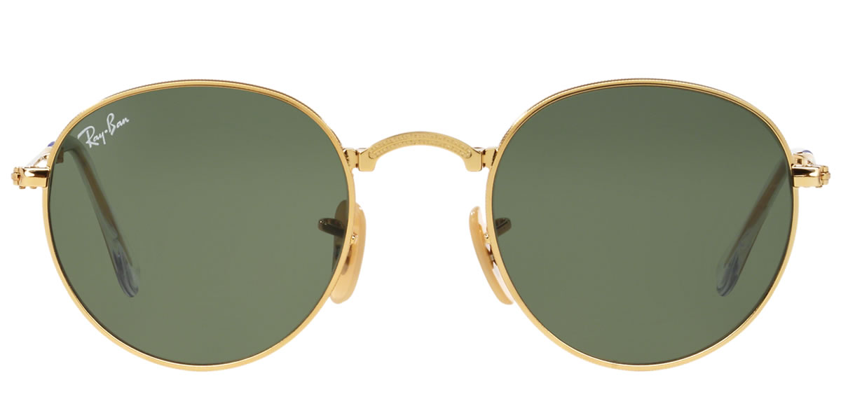 e7e967dd889 Ray-Ban Sunglasses RB3532 001 53size ROUND METAL FOLDING GENUINE NEW rayban  ray ban