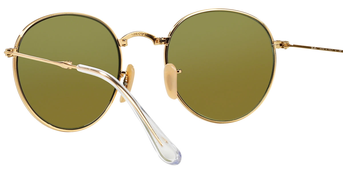 eaaeb631dec Ray-Ban Sunglasses RB3532 001 68 53size ROUND METAL FOLDING GENUINE NEW rayban  ray ban. Contact Shop