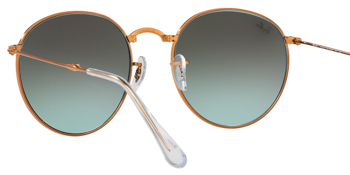 1c91b62a5d Ray-Ban Sunglasses RB3532 198 7Y 47size ROUND METAL FOLDING GENUINE NEW rayban  ray ban