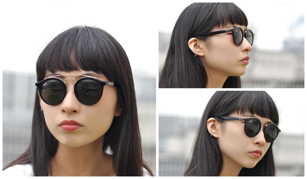 7874773589b Optical Shop Thats  Ray-Ban Sunglasses RB4256F 601 71 47size GATSBY ...