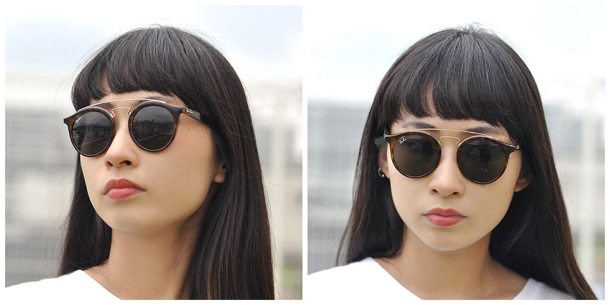 6c6069ffa20 Optical Shop Thats  Ray-Ban Sunglasses RB4256F 710 71 47size GATSBY ...