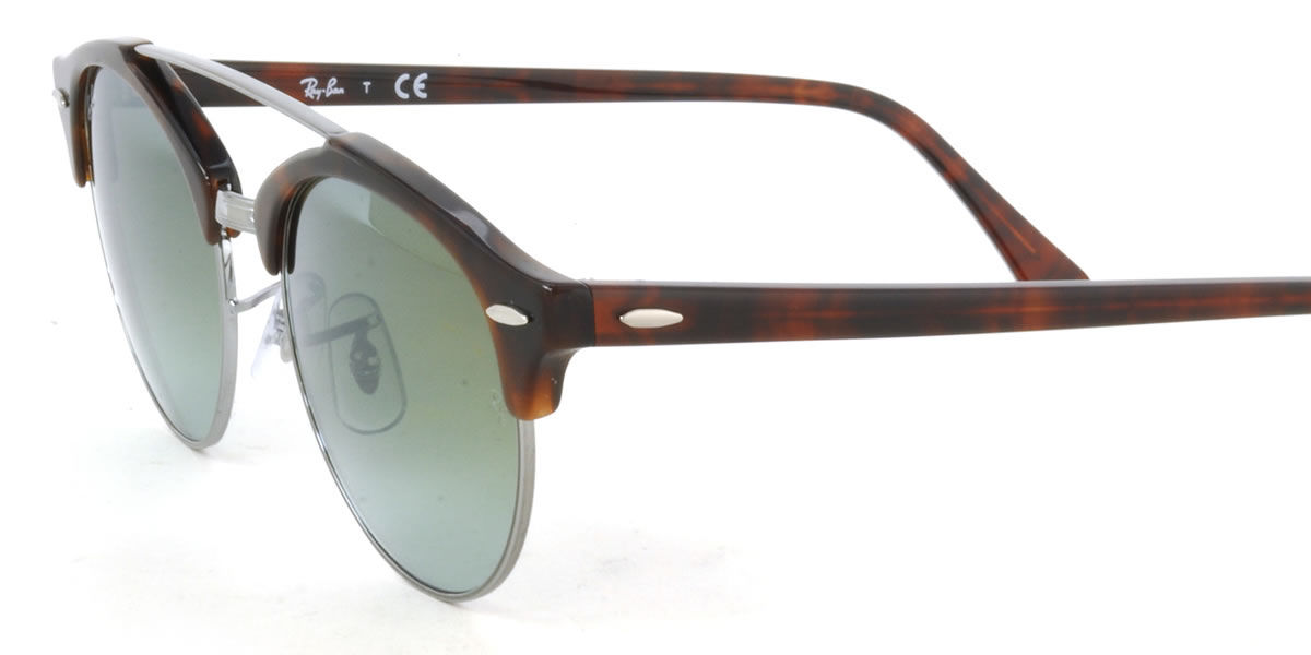 3276dbaa142828 Ray-Ban Sunglasses RB4346 62519J 51size CLUBROUND DOUBLE BRIDGE GENUINE NEW rayban  ray ban