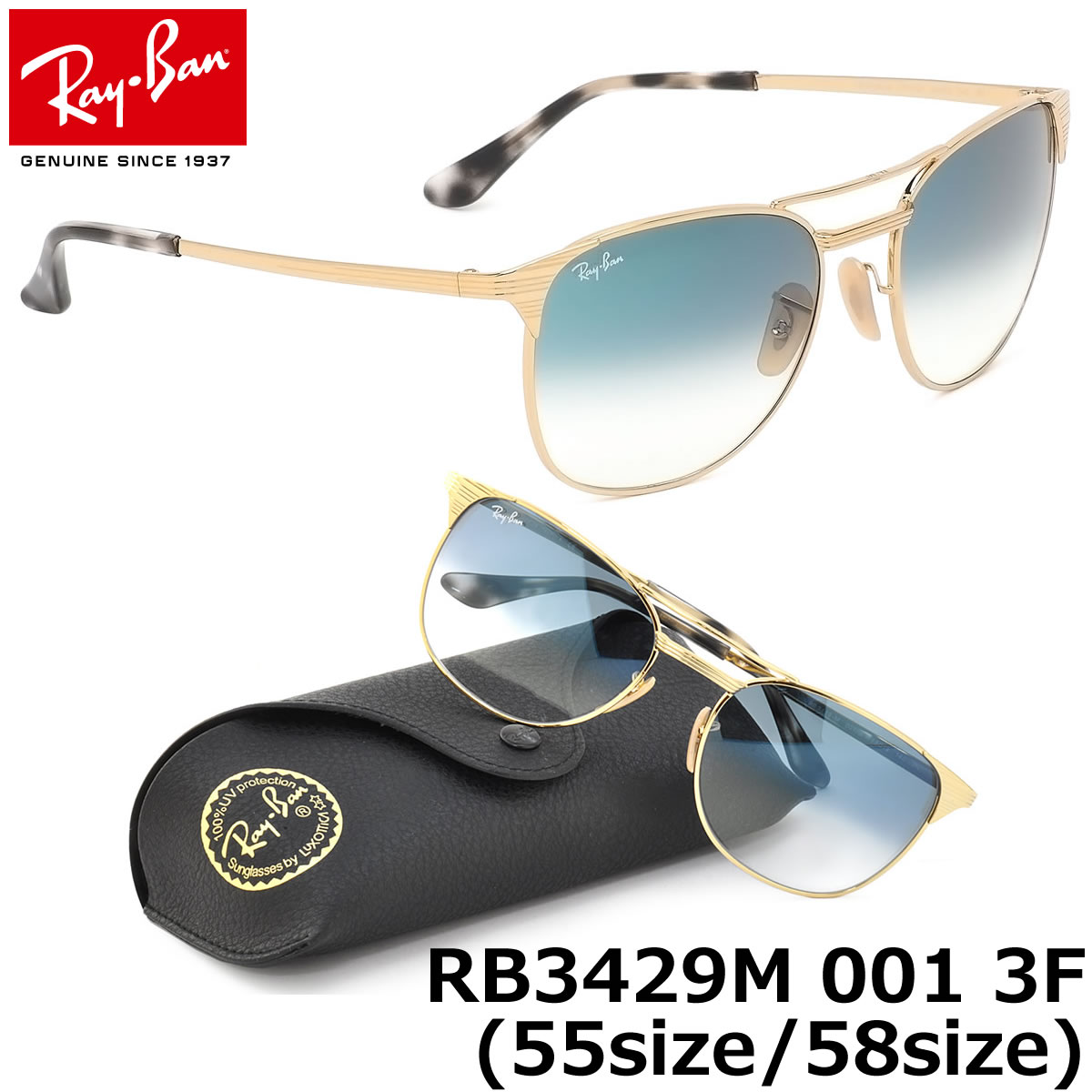 a30b98a007 Ray-Ban Sunglasses RB3429M 001 3F multiple sizes available SIGNET GENUINE  NEW rayban ray ban