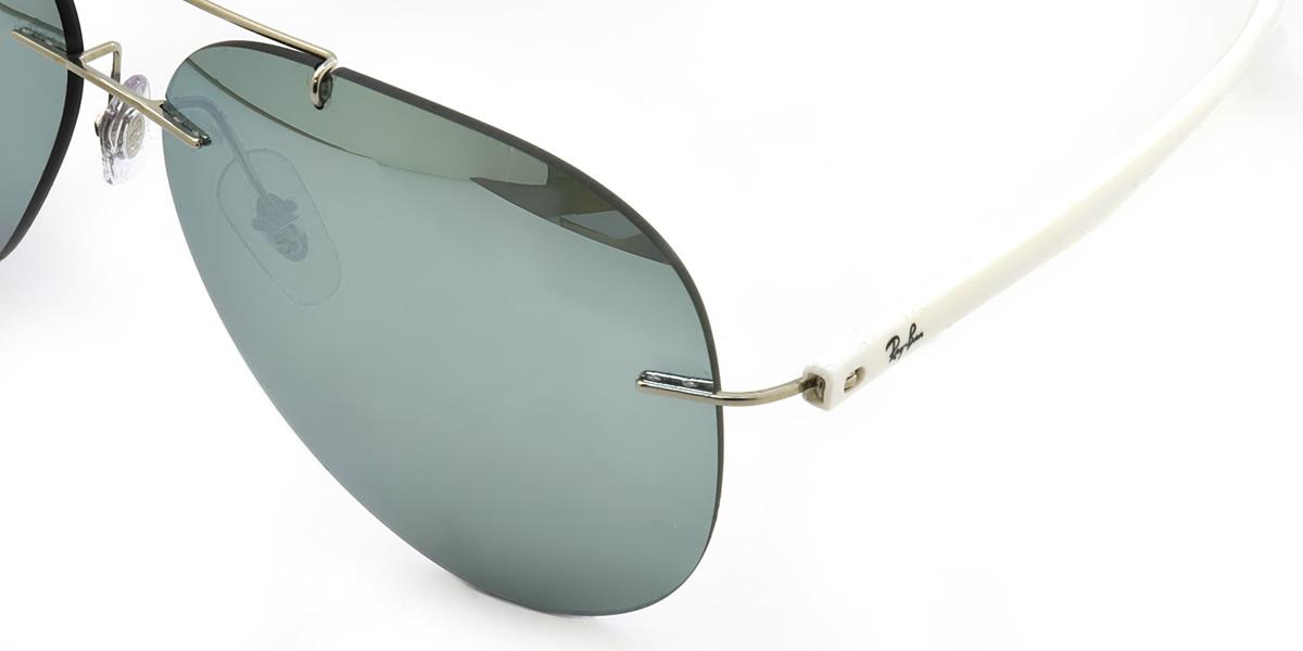 25b3c447f2 (Ray-Ban) sunglasses RB8058 003 30 59 size TECH (Ray-Ban technical center)  teardrop RayBan men gap Dis