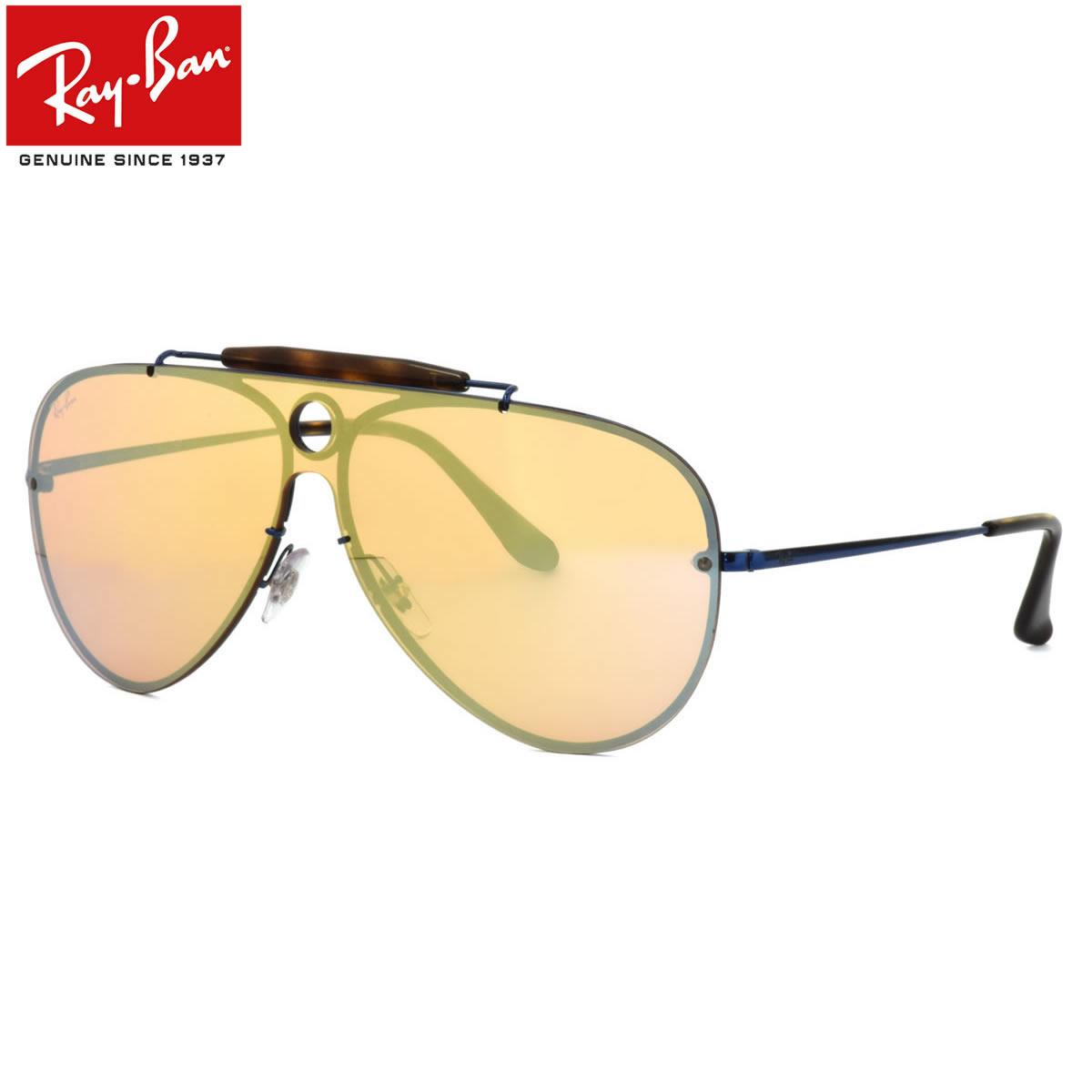 Ray-Ban レイバン サングラス RB3581N 90387J 132サイズ HIGHSTREET BLAZE SHOOTER ハイストリート ブレイズ シューター ミラー 1枚レンズ パイロット レイバン RayBan メンズ レディース