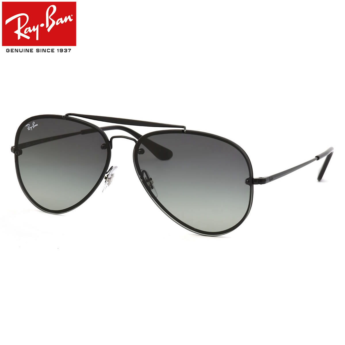 Ray-Ban レイバン サングラス RB3584N 153/11 61サイズ HIGHSTREET BLAZE ハイストリート ブレイズ ダブルブリッジ トレンド レイバン RayBan メンズ レディース
