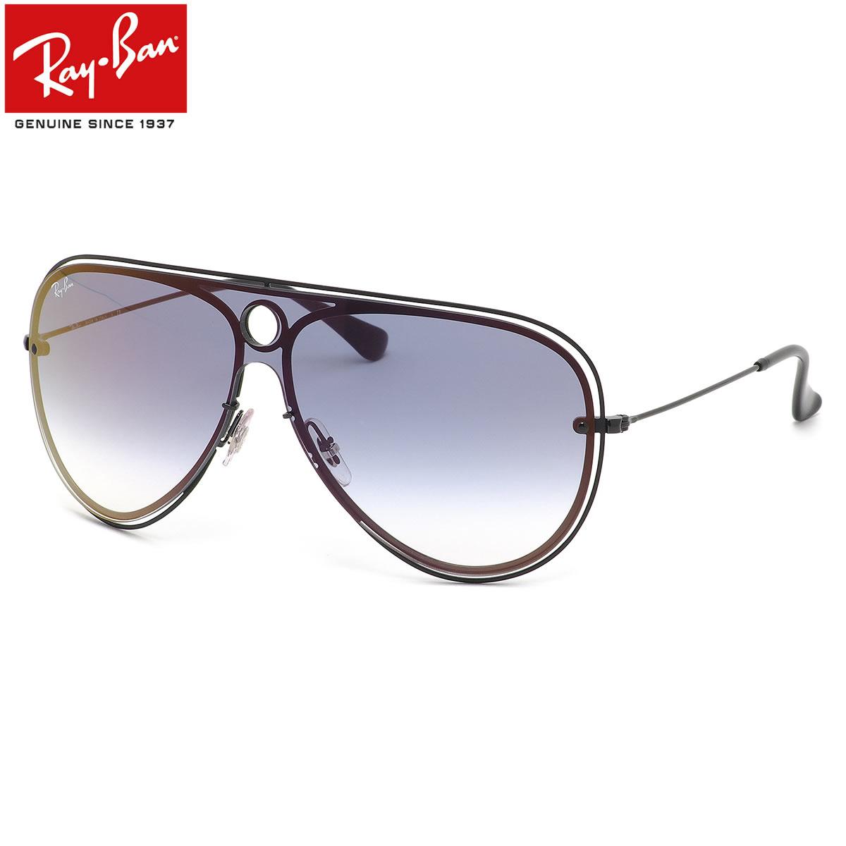 Ray-Ban レイバン サングラス RB3605N 186/X0 132サイズ HIGHSTREET BLAZE SHOOTER ハイストリート ブレイズ シューター ツーブリッジ ダブルブリッジ ミラー 1枚レンズ ワンシールド メンズ レディース