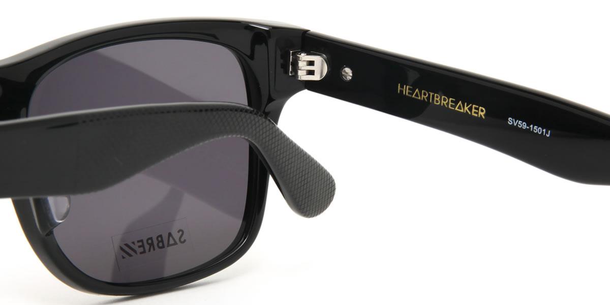 SV59 1501J 57尺寸SABRE(说酒吧)太阳眼镜HEARTBREAKER hatobureikamenzuredisu