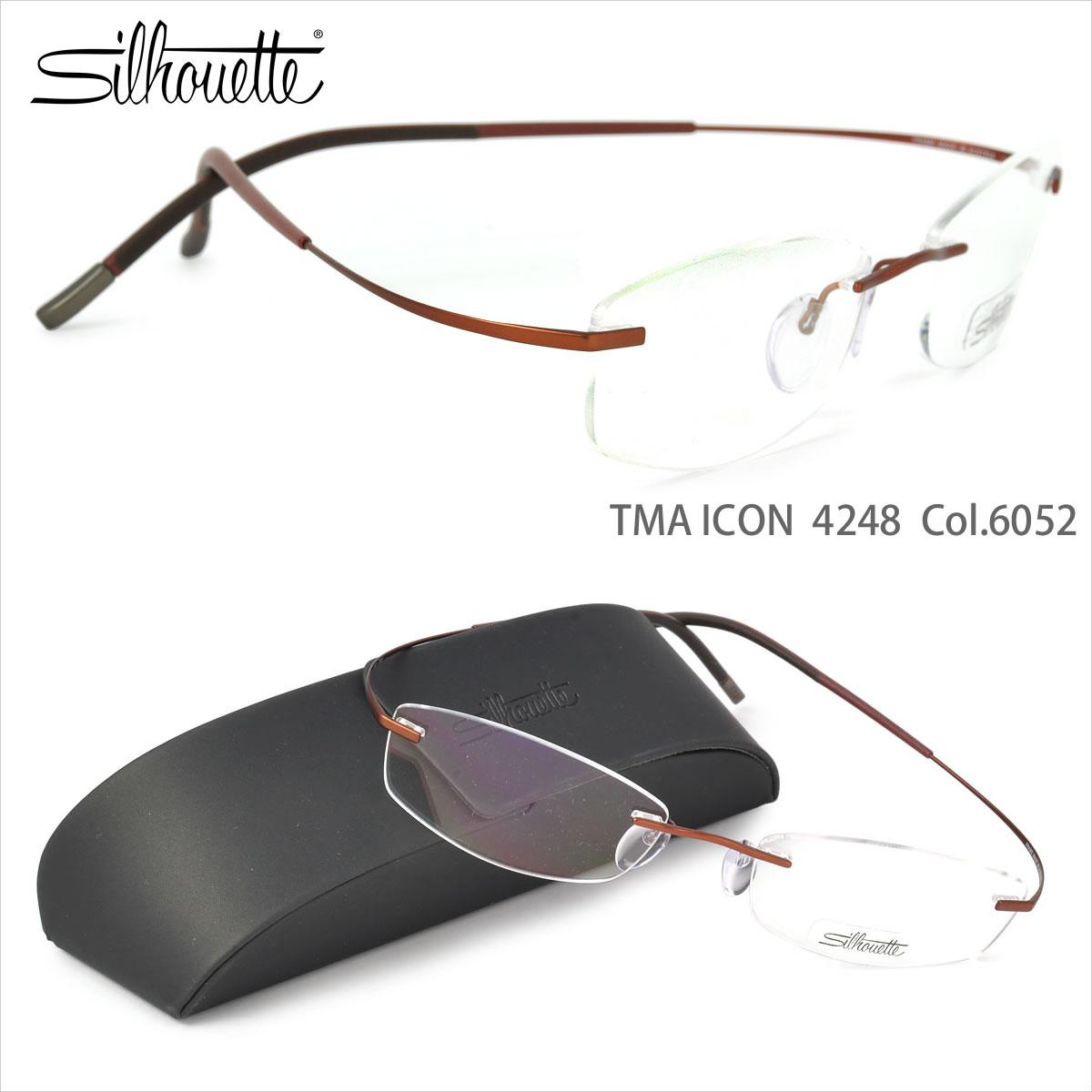 839c68f34a4 Silhouette glasses titanium minimal art icon 4248 6052 52 size Silhouette  TITAN MINIMAL ART TMA ICON ...