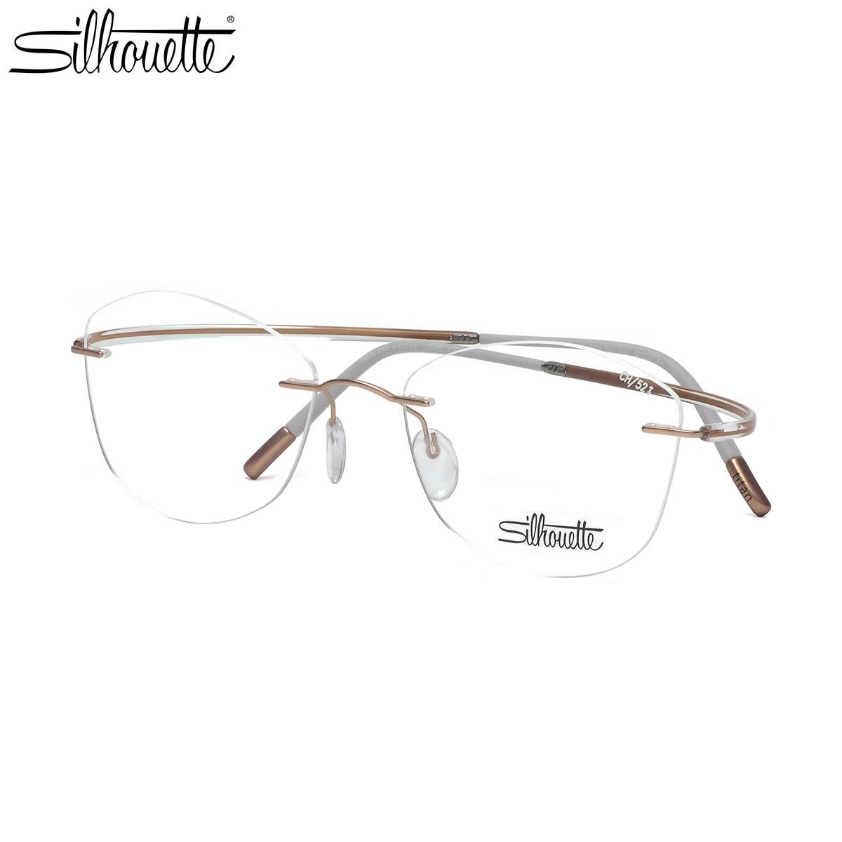 シルエット Silhouette メガネ 5523/CH 3532 52サイズ 伊達メガネレンズ無料 メンズ レディース