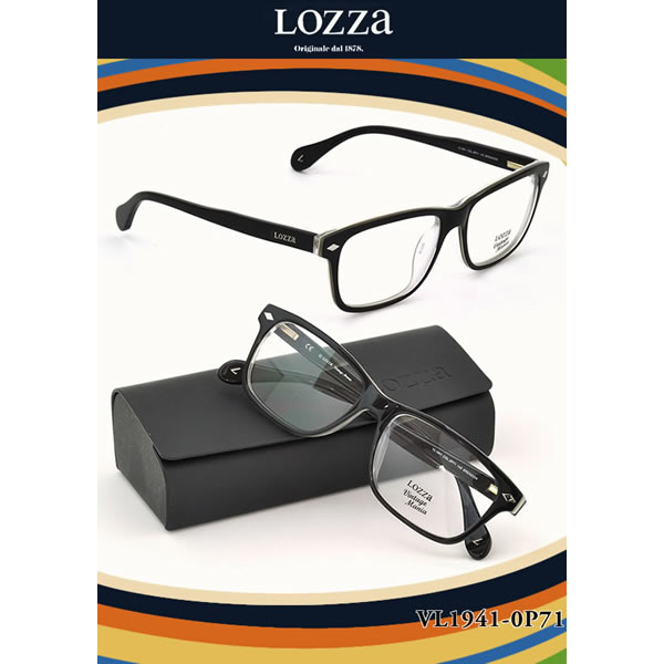 【10月30日からエントリーで全品ポイント20倍】【LOZZA ダテメガネ】ロッツァ「BRENDON」 VL1941 0P71【伊達メガネ用レンズ無料!!】