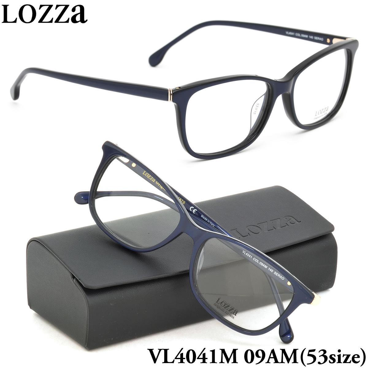 【10月30日からエントリーで全品ポイント20倍】【LOZZA】ロッツァ 眼鏡 メガネ フレーム VL4041M 09AM 53サイズ SERAO ボストン メンズ レディース