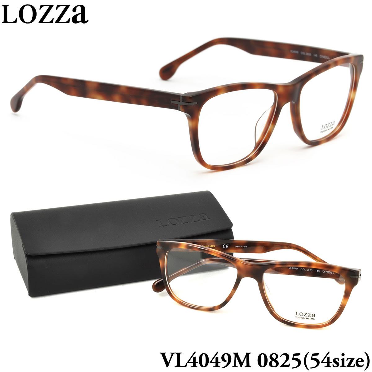 【10月30日からエントリーで全品ポイント20倍】【LOZZA】ロッツァ 眼鏡 メガネ フレーム VL4049M 0825 54サイズ O'NEILL ウェリントン メンズ レディース