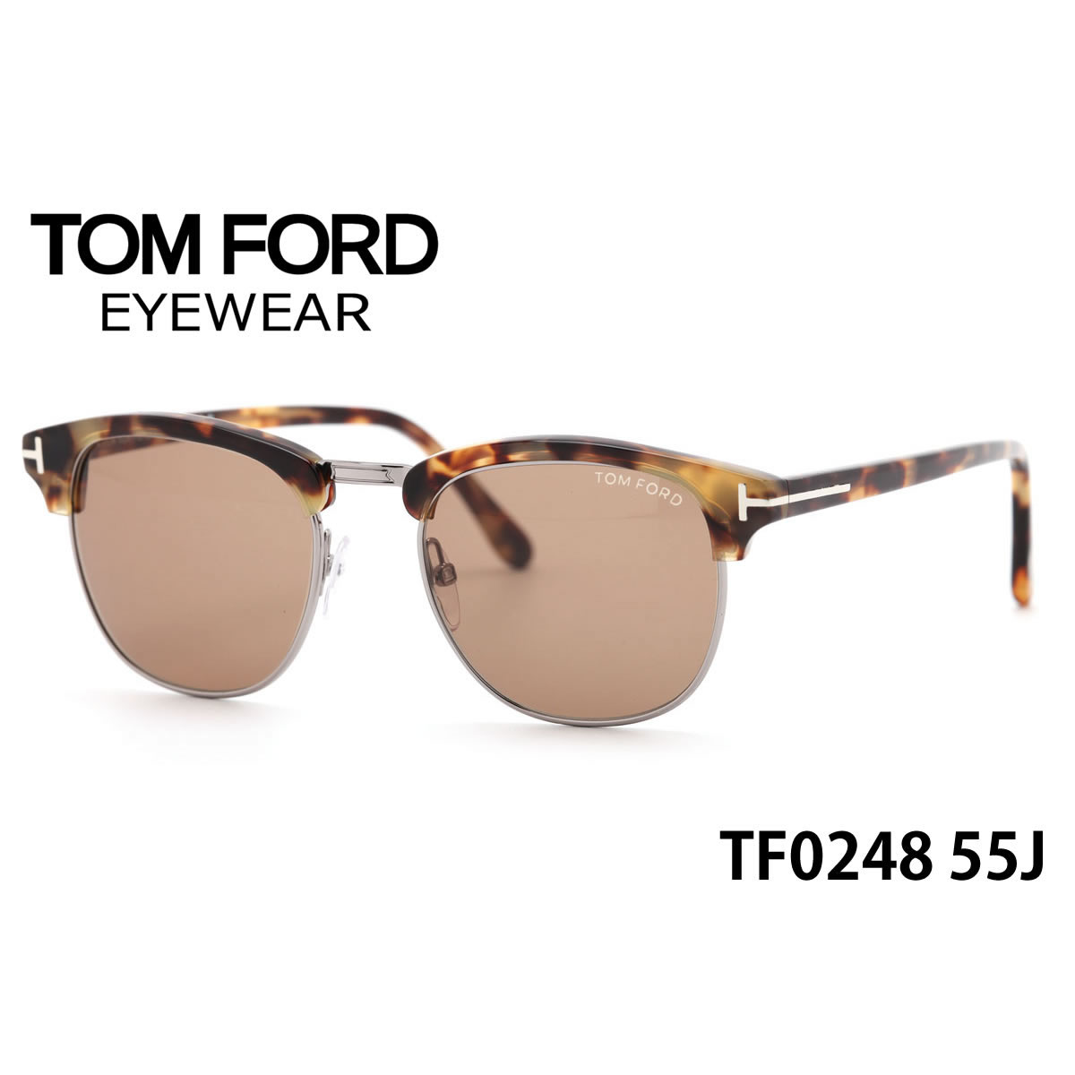 a7713818ba687 (TOM FORD) sunglasses TF0248 55J 51 size TOMFORD Henry HENRY FT0248 men gap  Dis