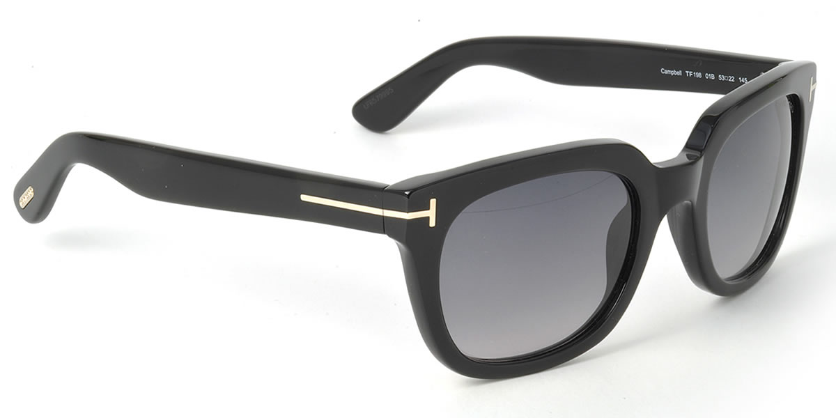 c80eb5268116 (TOM FORD) sunglasses TF0198 S 01B 53 size TOMFORD Campbell CAMPBELL FT0198  cell ...