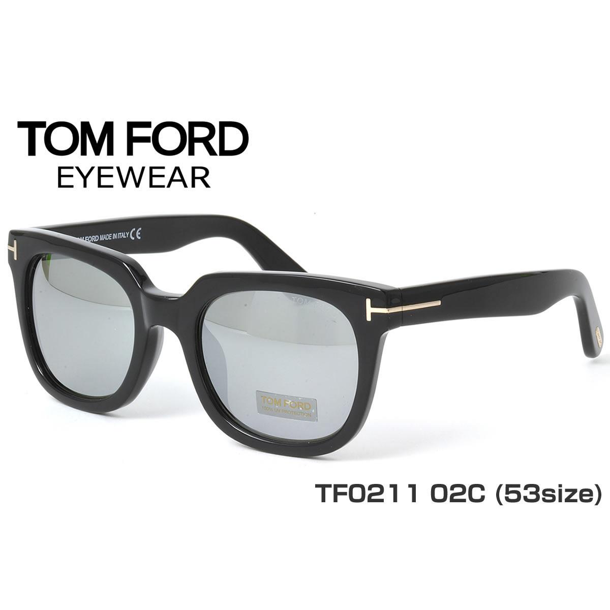点八倍 ! (TOM FORD) 太阳镜 TF0211/S 02 53 大小 TOMFORD FT0211/S 男女