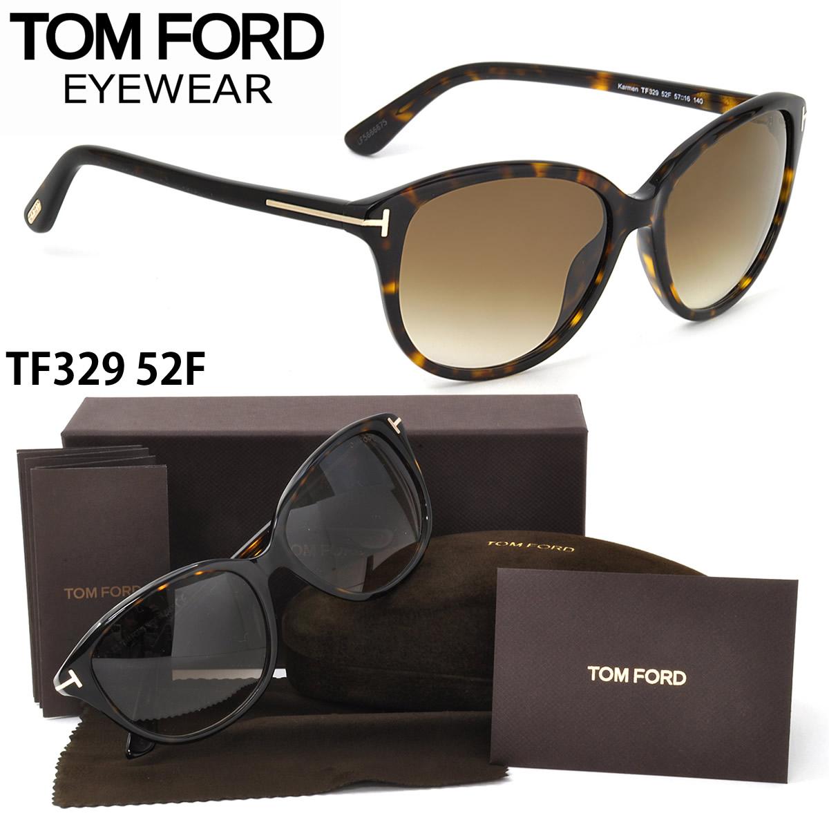 (TOM FORD)太阳眼镜TF0329 52F 57尺寸TOMFORD卡门KARMEN FT0329格子封条1个服务人分歧D