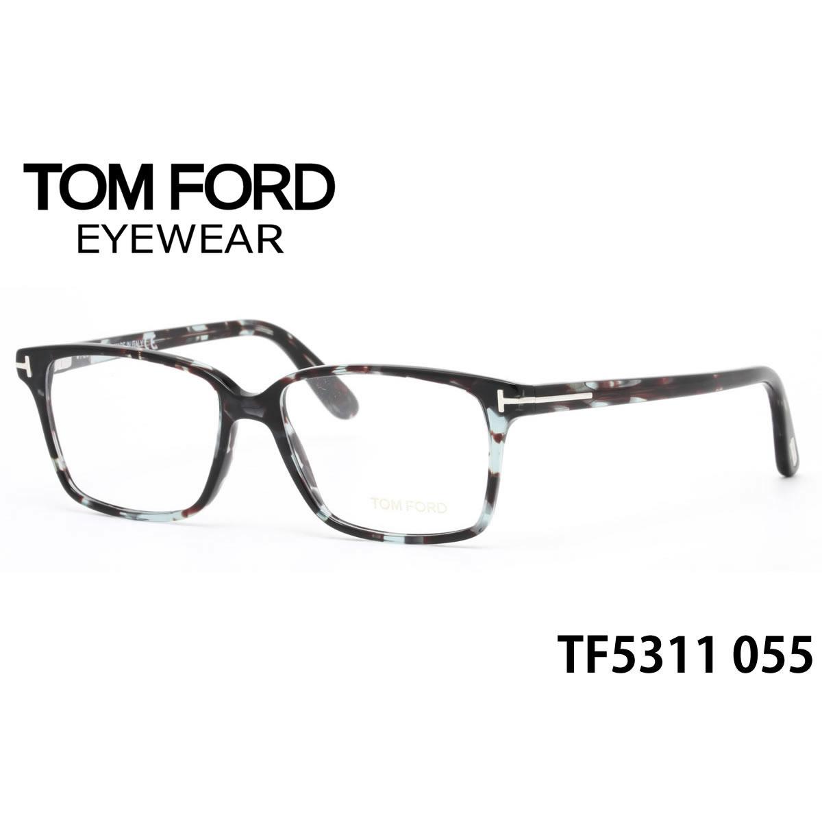 ほぼ全品ポイント15倍~最大43倍+3倍!お得なクーポンも! 【トムフォード】(TOM FORD) メガネ TF5311 055 53サイズ TOMFORD FT5311 セルシール1個サービス メンズ レディース