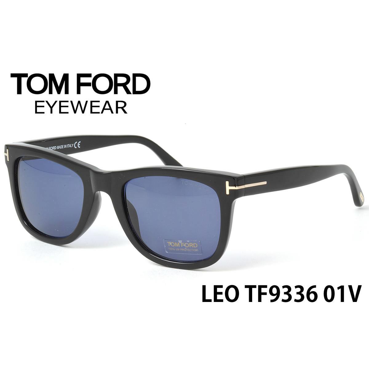 トムフォード TOM FORD サングラス TF9336/S 01V 52サイズ TOMFORD レオ LEO FT9336/S メンズ レディース