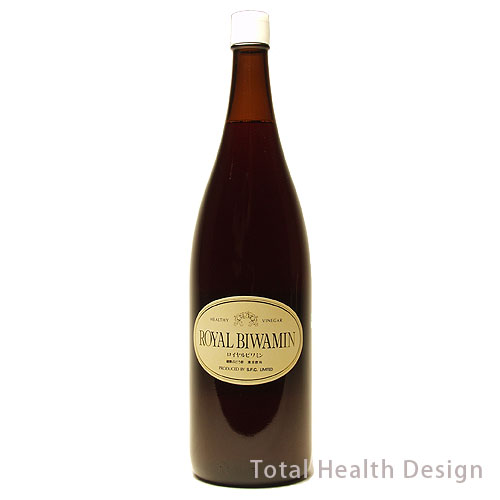 引出物 送料無料 からだも気分もスッキリする健康ドリンク 市場 健康ぶどう酢 1.8リットル ロイヤルビワミン