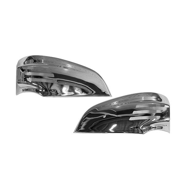 NEWジェネレーションキャンター 平成14年7月~ メッキ アイライン 左右セット コーナーランプ ウインカーカバー クローム ガーニッシュ