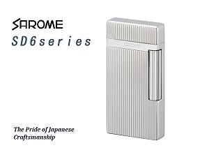 正規品販売! SAROME TOKYO TOKYO サロメ ガスライター フリントライター SD6シリーズ ガスライター シルバー SD6シリーズ/ダイヤカット/ヘアライン SD6-17【送料無料】, Qoots:b22e2c36 --- clftranspo.dominiotemporario.com
