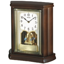 SEIKO セイコー クロック 木枠 電波置時計/電波置き時計/電波時計 BY233B