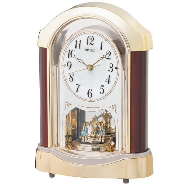 セイコー SEIKO スタンダード 置き時計 BY237G ホワイト