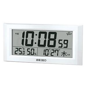 セイコークロック SEIKO CLOCK スペースリンク 掛置時計 デジタル GP502W