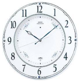 【SEIKO CLOCK】セイコー プレミアム SWEEP スイープ 電波掛時計 LS230W